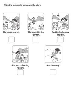 of Story Sequencing-Story Writing-Writing-English Story Sequencing Worksheets, Sequencing Cards, 2nd Grade Worksheets, Sequencing Activities, Reading Worksheets, Kindergarten Worksheets, Worksheets For Kids, Printable Worksheets, Free Printable