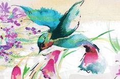Kolibrie (Hummingbird) poplin. Colourfull and supple poplin of organic cotton. http://www.purecoverz.nl/Products/2035-0-kolibrie-poplin.aspx