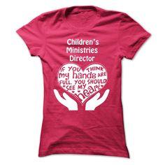 Childrens Ministries Director TShirt  Full Heart