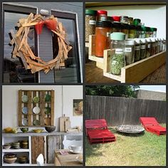 I love pallets! I've got to get my husband on board with me...no pun intended! ~ Tina
