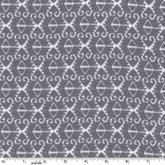 Spa Ikat in Gray, Michael Miller, part of the Citron Gray collection
