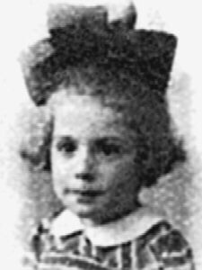(02/19/1939) Nijmegen Netherlands Roman Catholic (02/22/1944) Sadly killed during a bombing at a shoe store 5 years old