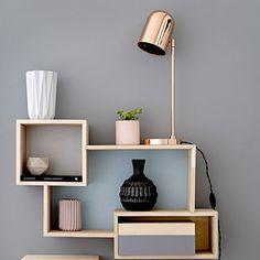 Bloomingville Lampe de table 40W, Cuivre - Bloomingville - Bloomingville - RoyalDesign.fr