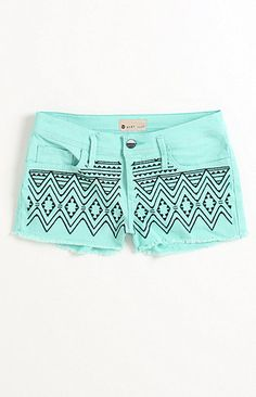 Roxy Carnival Embellished Shorts - Save 15% on orders $50+ at PACSUN this Memorial Day with promo code MEM15