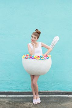 DIY Cereal Bowl Costume   studiodiy.com