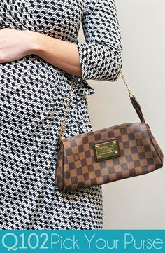 Louis Vuitton - Eva Damier. Go to wkrq.com to find out how to play Q102's Pick Your Purse!