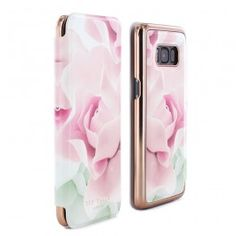 c96b1d07bd8798 Ted Baker KNOWAI Mirror Folio Case for Samsung Galaxy S8 - Porcelain Rose  (Nude)