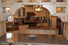 French Country Gourmet Kitchen Remodel | Mobile and Manufactured Home Living