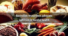 Australian researchers advocate nutrition in mental health treatment