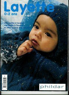 Receita Tricô Fácil   Revista Layette Tricô Bebê de 0 a 2 anos                                                                           ...