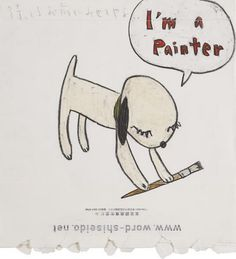View IM A PAINTER by Yoshitomo Nara on artnet. Browse upcoming and past auction lots by Yoshitomo Nara. Confused Feelings, Yoshitomo Nara, Folk, Global Art, Art Market, Wall Collage, Cute Art, Art Inspo, My Books