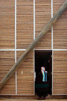 Complejo de viviendas Ruca, en Huechuraba, Chile