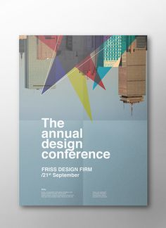 The Annual Design Conference posters on Behance