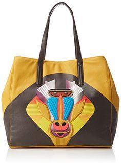 #Liebeskind #Berlin #Damen #Toyota #Shopper, #Gelb #(Amber #Yellow #1758)…