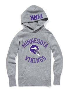 MN Vikings Pullover Hoodie Nice sweatshirt to watch Teddy Bridgewater in!