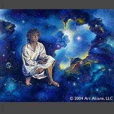 Jesus The Missing Years by artist Akiane