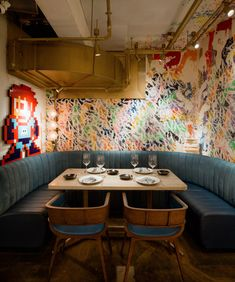 Bibo restaurant in Hong Kong by Substance.
