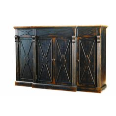 This would look insane in your family room under the tv     Hooker Furniture Sanctuary 3 Drawer Console Table