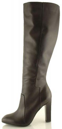 kozaki baldowski d01442/quad/002koc czarny Me Too Shoes, Heeled Boots, Vogue, Heels, Model, Fashion, High Heel Boots, Heel, Moda