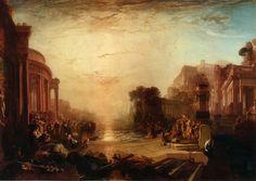 ターナー 1817 カルタゴ帝国の衰退 ロンドン テート・ギャラリー