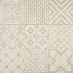 Aleluia Ceramicas - Krea Hidraulico Beige 01 59,2x59,2 Planeta dom