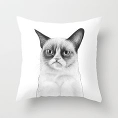 "Grumpy Cat Drawing ""Tard"""