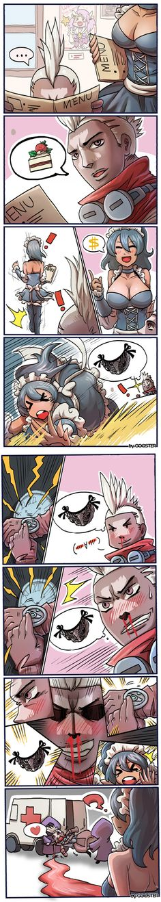 Ekko The Almight Pervert.
