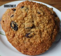 Christine It: Oatmeal Cookies