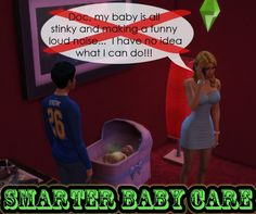 Smarter Baby Care by scumbumbo at Mod The Sims � Sims 4 Updates