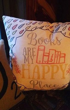 The best feeling in the world is coming home to where you feel safe and comfortable. Books do that for us—and so do cozy pillows to rest against with the latest chapter. Get this adorable design from Redbubble.com.