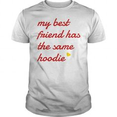 My best friend has the same hoodie