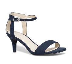 sandale petit talon marine - Sandales talon - Chaussures femme Eram 49€ 05289e260aee