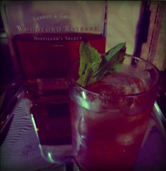 Extra tasty Strawberry Mint Julep  #recipe #cocktails