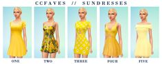 What are your favourite sundresses or summer dresses that are bgc? here ya go boo one / two / three / four / five Sims 4 Cc Packs, Sims 4 Mm Cc, The Sims, Maxis, Sims 4 Cas Mods, Dress Hairstyles, Sims 4 Cc Finds, Sims 4 Clothing, Super Cute Dresses