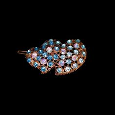 Vintage Hair Accessories, Southwest Jewelry, Statement Jewelry, Beautiful Necklaces, Bridal Jewelry, Barrette, Aurora Borealis, Vintage Outfits, Vintage Items