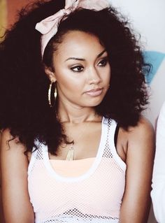 Leigh-Anne Pinnock... Your hair always looks so amazing! and perfectly in place lol @Leigh Anne Pinnock #jealous