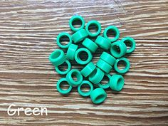 25pcs/Bag Large Type Dental Silicone Instrument Color Code Rings Green color Shadental http://www.amazon.com/dp/B01DL2MU38/ref=cm_sw_r_pi_dp_3Z.-wb1JNT1S7