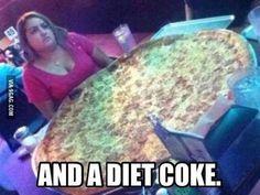 I'm on a diet!