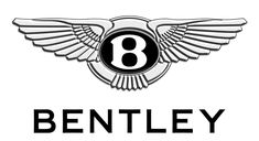 """Bentley Motors Logo - Elegant and classic logo, sporting silver, white, and black as its only colors. Above """"Bentley"""" is a silver circle which houses a unique """"B,"""" and features wings on either side. Bentley Logo, Bentley Car, Mclaren Mercedes, 3d Logo, Logo Branding, Illuminati, Mazda, Volvo, Stickers"""
