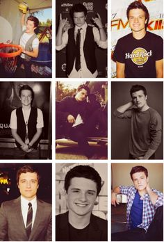 you can never have too much of josh hutcherson !