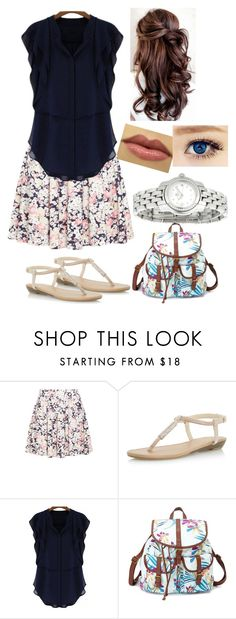 """The Jewel of His Life: Lia's Outfit #3"" by capeles on Polyvore featuring beauty, Dorothy Perkins, Charlotte Russe and Baume & Mercier"