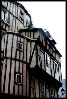 Timbered house    Vannes - Bretagne