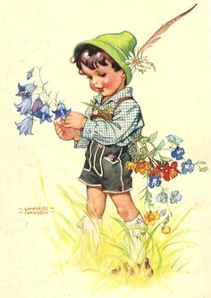 Ilse Wende Lungershausen, illustrator | Born: 9 July 1900 - Died: 22 August 1991 in Ravensburg, Germany