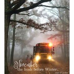 Wheels On The Bus, Hush Hush, Train, School Buses, Winter, Outdoor, November, Autumn, Holidays