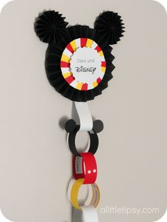A Little Tipsy: Disney Countdown - did this for our up-and-coming trip.  In fact, this is how we will announce to the kids that we are going (along with a small gift, something for on the plane)