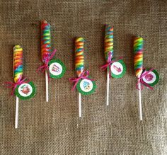 Shopkins Lollipop Twist - Party Favor - Shopkins Birthday Party - Goodie Bag…