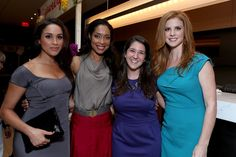 Meghan Markle Photos - (L-R) Actresses Meghan Markle, Gina Torres, guest, and Sarah Rafferty attend the FINCA Canada Fundraiser At TIFF 2012 during the Toronto International Film Festival on September 11, 2012 in Toronto, Canada. - FINCA Canada Fundraiser At TIFF - 2012 Toronto International Film Festival