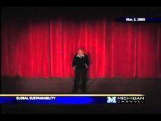 Jacque Fresco - Sustentabilidade Global - Apresentado pela Universidade de Michigan, School of Art & Design, Jacque faz uma apresentação pública do Projeto Venus em 5 de Março de 2009.