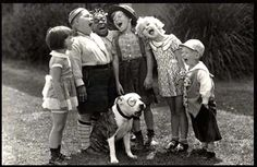You think if Pitbulls were really mean they would have let one around all these kids on The Little Rascals? I didn't think so either... ;)