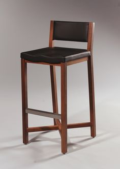 Nash Bar Stool with Upholstered Seat - Designform Furnishings